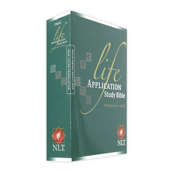 NLT Life Application Study Bible, Personal Size, Paperback