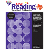 Newmark Learning, STAAR Reading Warm-Up and Test Practice: Grade 7, Paperback, 144 Pages
