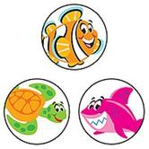 TREND enterprises Inc., Sea Buddies superSpots® Stickers, Multi-Colored, Pack of 800