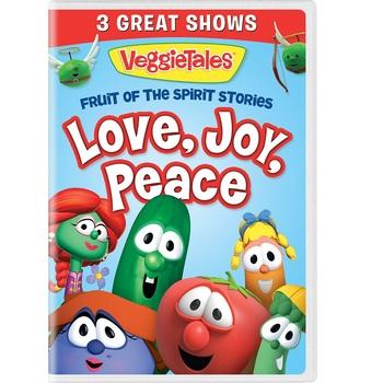 Pre-buy, VeggieTales, Fruit of the Spirit Stories Volume 1: Love, Joy, Peace, DVD