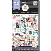 MAMBI Happy Planner Value Pack Stickers, 30 sheets