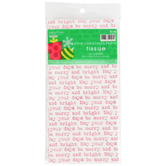 Brother Sister Design Studio, Mylar Assortment Christmas Tissue Paper, Red/White/Green, 20 x 18 inches, 40 Sheets
