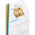 KJV Teen Study Bible, Duo-Tone, Burnt Orange and Fudge