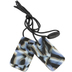 Chewigem, Mild Chew Dog Tag Necklace, Combat, for Sensory, Oral Motor, Anxiety, Autism, ADHD, Ages 4 and up
