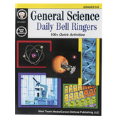 Carson-Dellosa, General Science Daily Bell Ringers, Reproducible Paperback, 64 Pages, Grades 5-8