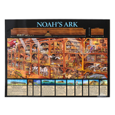 Noahs Ark Timeline Chart, by Rose Publishing, Wall Chart