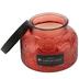 Darsee & David's, Clementine & Mango Embossed Jar Candle, Orange, 18 Ounces