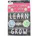 Schoolgirl Style, Simply Stylish When We Learn We Grow Motivational Bulletin Board Set, 50 Pieces