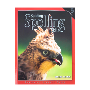 Christian Liberty Press, Building Spelling Skills Book 5, 2nd Ed, Paperback, 126 Pages, Grade 5