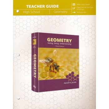 Master Books, Jacobs Geometry, Teachers Guide, 3rd Edition, Paperback, 266 Pages, Grades 10-12