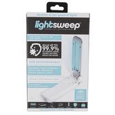 D.M. Merchandising, Lightsweep Portable UV-C Sanitizing Wand, White, 6 Inches
