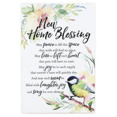 Dexsa, New Home Blessing Wall or Tabletop Plaque, Wood, 6 x 9 inches