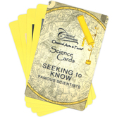 Classical Conversations, Classical Acts and Facts Science Cards Famous Scientists, Grades K-12