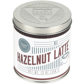 Darsee & David's, Hazelnut Latte Scented Candle Tin, 13.2 Ounces