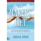 The Makers Diet: Updated and Expanded, by Jordan Rubin, Paperback