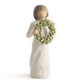 Willow Tree, Magnolia Figurine, by Susan Lordi, Resin, 5 1/2 inches