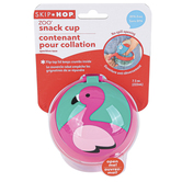 Skip Hop, Franny Flamingo Snack Cup, Ages 12 Months and Older, 7 1/2 ounces