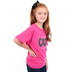 Kerusso, God Made Me Cute I Can't Help It Youth T-shirt, Pink