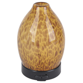 Candle Warmers, Airome Tortoise Shell Ultrasonic Essential Oil Diffuser, Brown, 6 1/2 x 3 1/4 inches