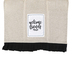 Brownlow Gifts, Welcome Friends Tea Towel, Cotton, Black, White, and Tan, 18 x 28 inches