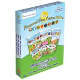 Preschool Prep Company, Meet the Sight Words 3 DVD Set, Levels 1-3, 102 Minutes, Ages 15 Months to 6 Years