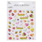 the Paper Studio, Bug Glitter Stickers, 51 Stickers
