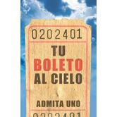 Good News, Tu Boleto Al Cielo (Your Ticket To Heaven) Tract, Set of 25