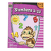 Ready-Set-Learn Activity Book: Numbers 1-20, 64 Pages, Grades PreK-K