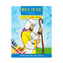 Believe Coloring Book: Think, Act, Be Like Jesus, by Macky Pamintuan