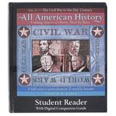 Bright Ideas Press, All American History, Vol. 2: Student Reader, by Celeste W. Rakes, Hardcover