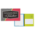 Isabella Collection, Thoughts From the Teacher Postcards, Multi-Colored, 3.5 x 5.5 Inches, Pack of 36