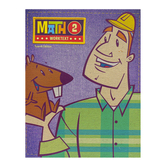 BJU Press, Math 2 Student Worktext, 4th Edition, Paperback, Grade 2