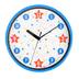 Colorfetti Collection, Decorative Wall Clock, Multi-Colored, Round, 11.50 Inch Diameter