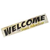 Teacher Created Resources, Travel the Map Welcome to Our Great Adventure Banner, 8 x 39 Inches