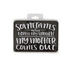 Open Road Brands, When I Open My Mouth Magnet, Tin, Black, 3 1/2 x 5 inches