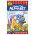 School Zone, Little Get Ready Book, Learn the Alphabet, 48 Pages, 5.25 x 8.50 Inches, Grades PreK-K