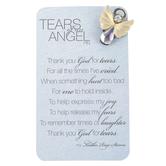 Roman, Inc., Thank You God For Tears Angel Lapel Pin, 1 inch
