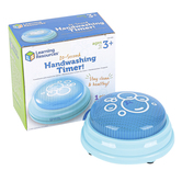 Learning Resources, 20 Second Handwashing Timer, Light Blue, 3.50 x 1.50 Inches, Toddler to Grade 1