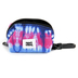 Kerusso, Paws and Pray, Colossians 3:15 Peace Love & Jesus Pet Bag Dispenser, Polyester, Tie Dye, 3 x 2 inches