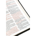RVR 1960 Reference Spanish Bible, Hand-Size, Large Print, Imitation Leather, Black