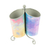 Retro Chic Collection, Classroom Desktop Spinning Caddy, 8.5 x 6 inches, Ombre Jewel Tones