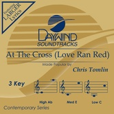 At The Cross (Love Ran Red), Accompaniment Track, As Made Popular by Chris Tomlin, CD