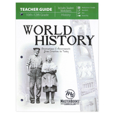 Master Books, World History Teacher Guide, Paperback, 272 Pages, Grades 10-12