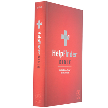 NLT HelpFinder Bible, Paperback