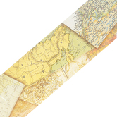 Teacher Created Resources, Travel the Map Straight Border Trim, Trimmer, Multi Colored, 35 Feet