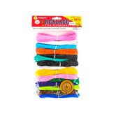 Pepperell Crafts, Rexlace Value Pack Neon, 450 feet, Assorted Primary Colors