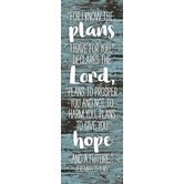 Salt & Light, For I Know The Plans I Have For You Bookmarks, 2 x 6 inches, 25 Bookmarks