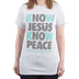 NOTW, 2 Peter 1:2 Know Jesus Know Peace, Women's Short Sleeve T-Shirt, Ash Heather, Small