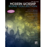Modern Worship Song Collection, by Alfred Music, Songbook