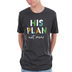 NOTW, His Plan Not Mine, Men's Short Sleeve T-shirt, Dark Grey Heather, Small